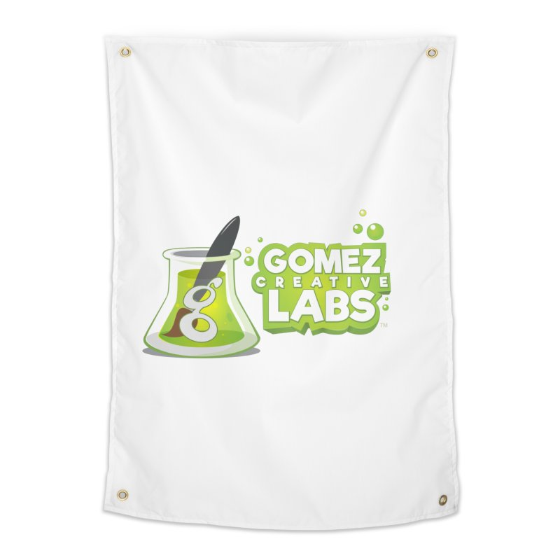 Gomez Creative Labs Logo Home Tapestry by Coconut Justice's Artist Shop