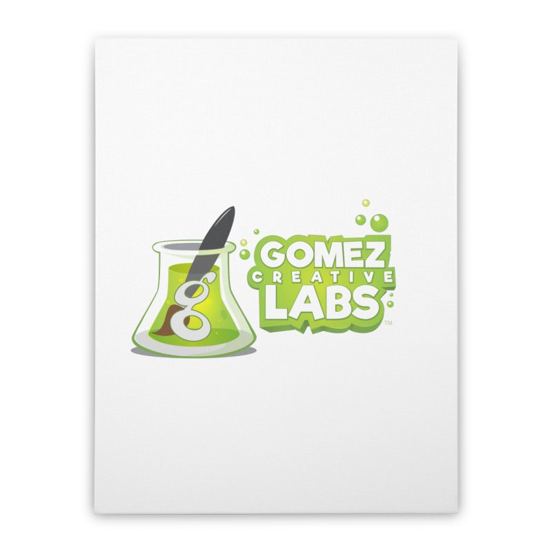 Gomez Creative Labs Logo Home Stretched Canvas by Coconut Justice's Artist Shop