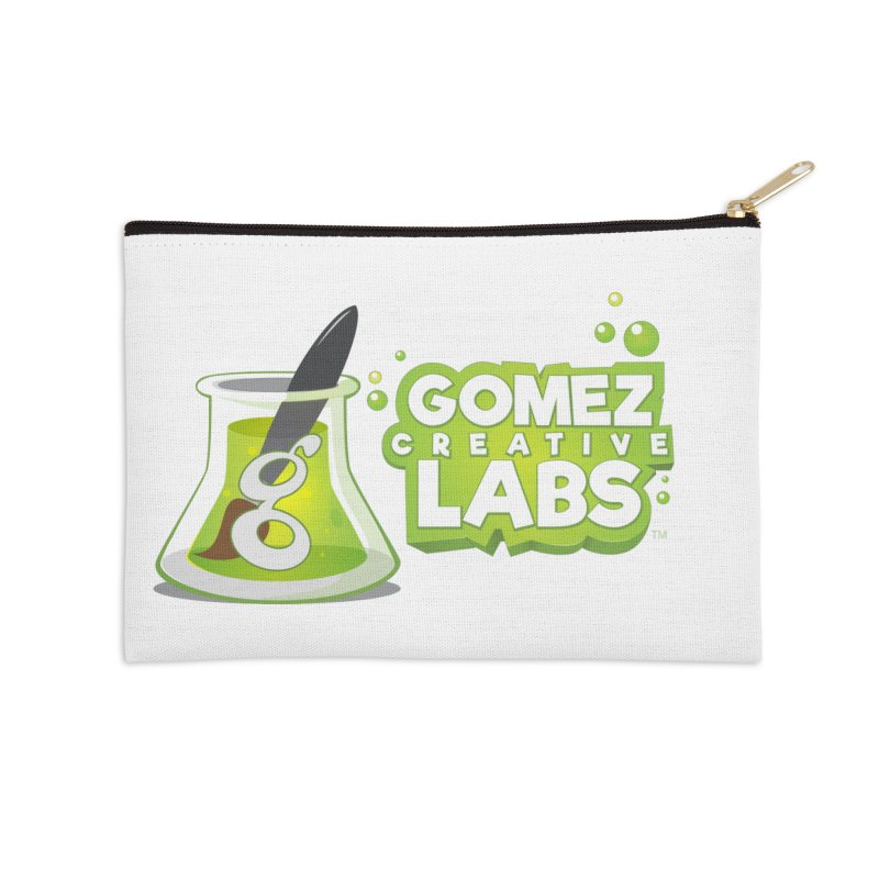 Gomez Creative Labs Logo Accessories Zip Pouch by Coconut Justice's Artist Shop