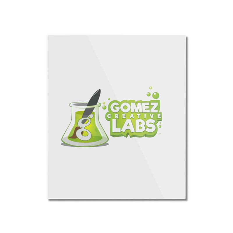 Gomez Creative Labs Logo Home Mounted Acrylic Print by Coconut Justice's Artist Shop
