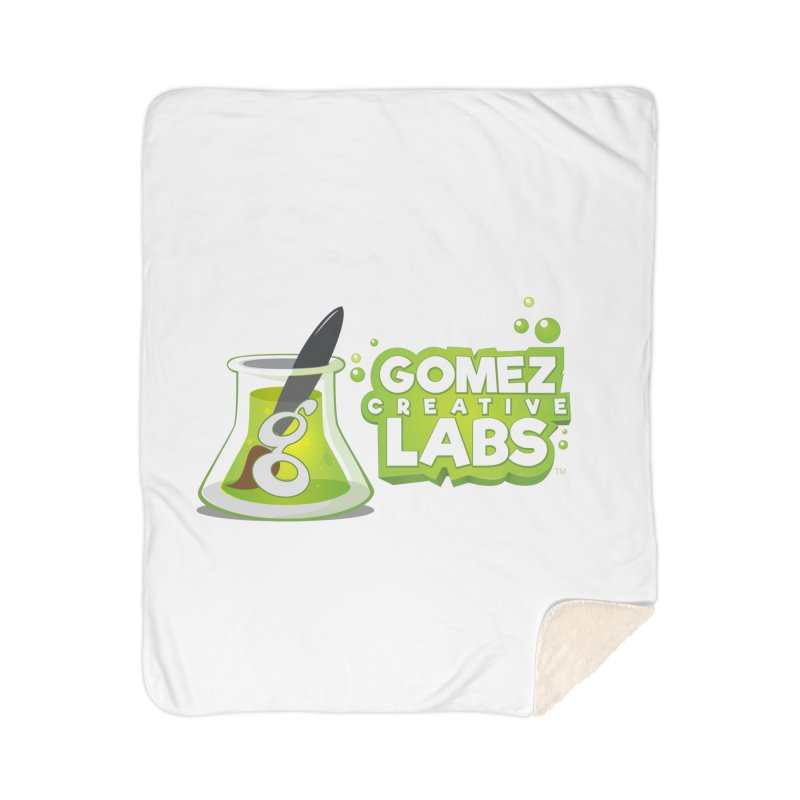 Gomez Creative Labs Logo Home Sherpa Blanket Blanket by Coconut Justice's Artist Shop