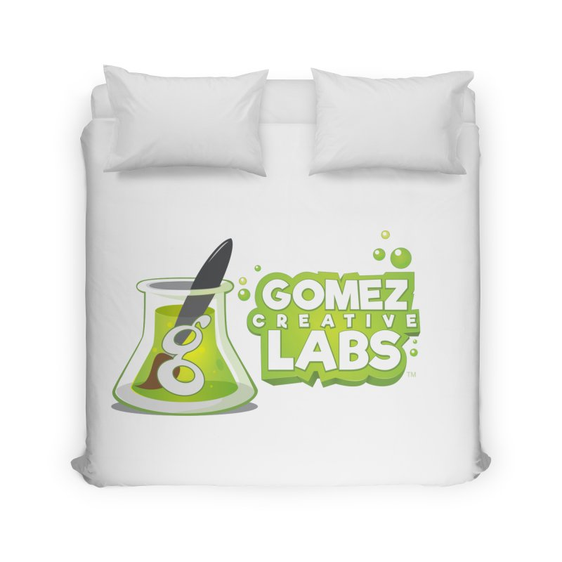 Gomez Creative Labs Logo Home Duvet by Coconut Justice's Artist Shop