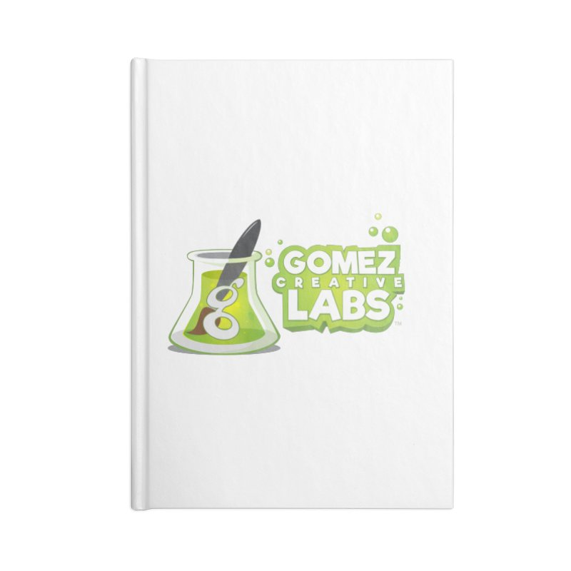 Gomez Creative Labs Logo Accessories Notebook by Coconut Justice's Artist Shop