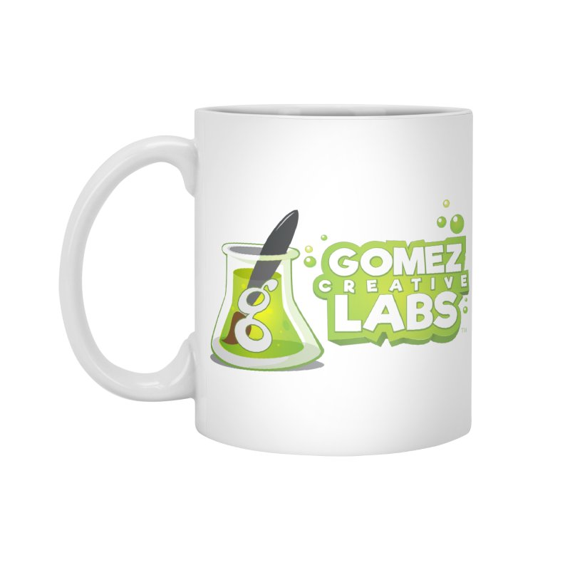 Gomez Creative Labs Logo Accessories Mug by Coconut Justice's Artist Shop
