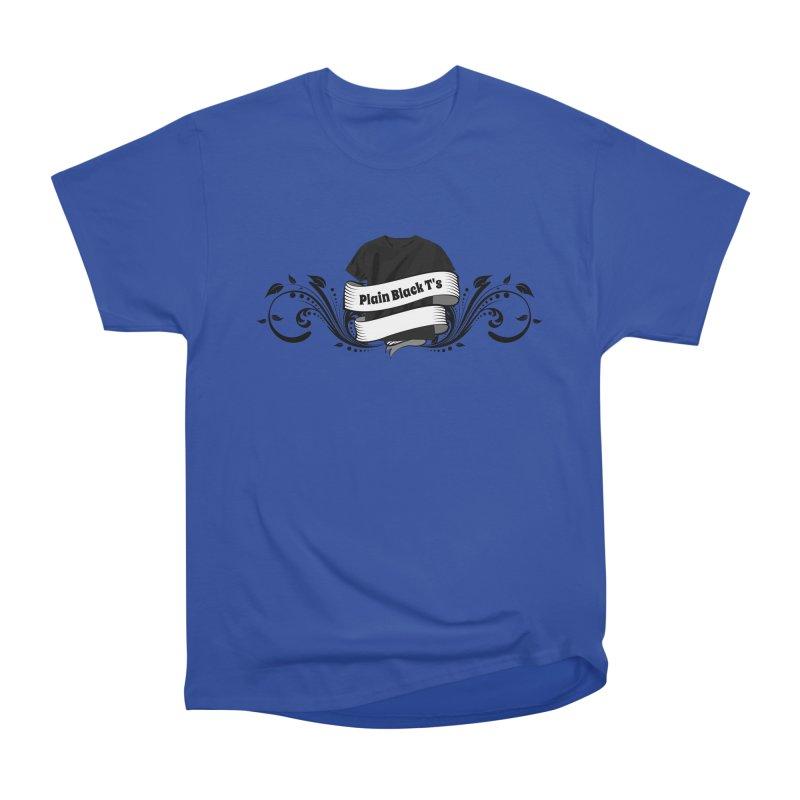 Plain Black T's Logo Men's Heavyweight T-Shirt by Coconut Justice's Artist Shop