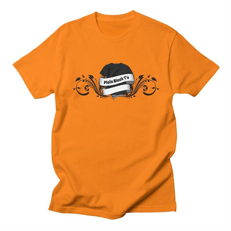 Plain Black T's Logo Women's Unisex T-Shirt by Coconut Justice's Artist Shop