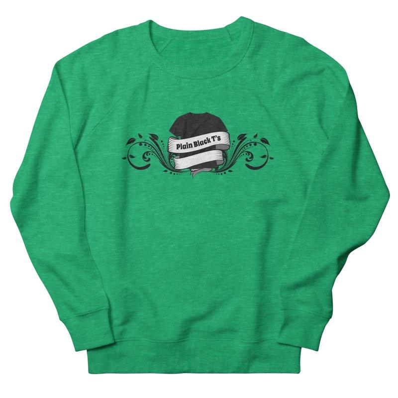 Plain Black T's Logo Women's Sweatshirt by Coconut Justice's Artist Shop