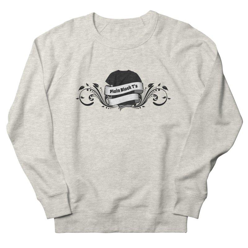 Plain Black T's Logo Men's  by Coconut Justice's Artist Shop