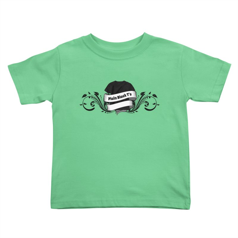 Plain Black T's Logo Kids  by Coconut Justice's Artist Shop