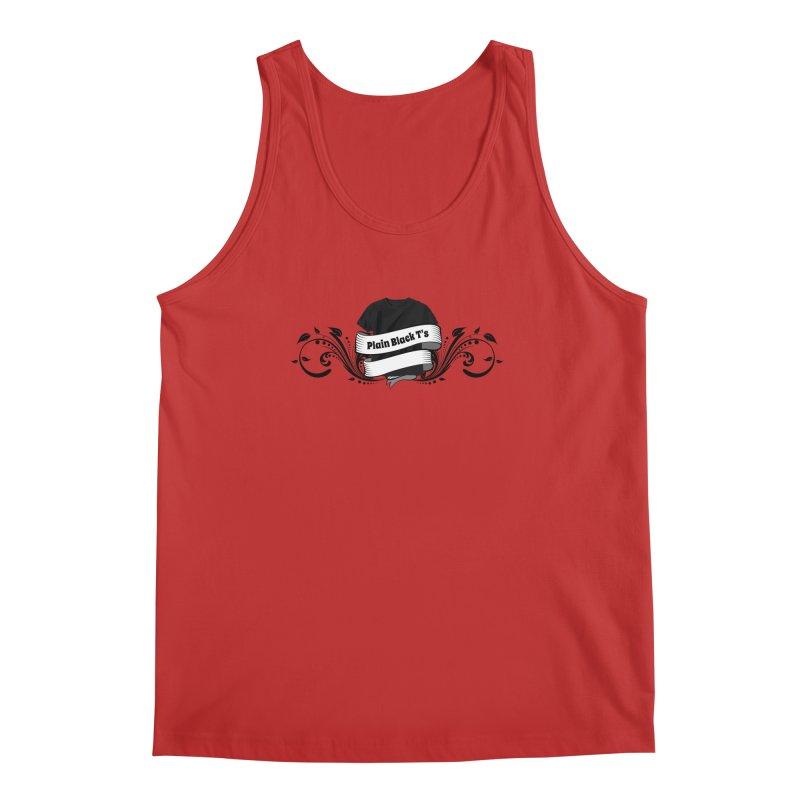 Plain Black T's Logo Men's Tank by Coconut Justice's Artist Shop