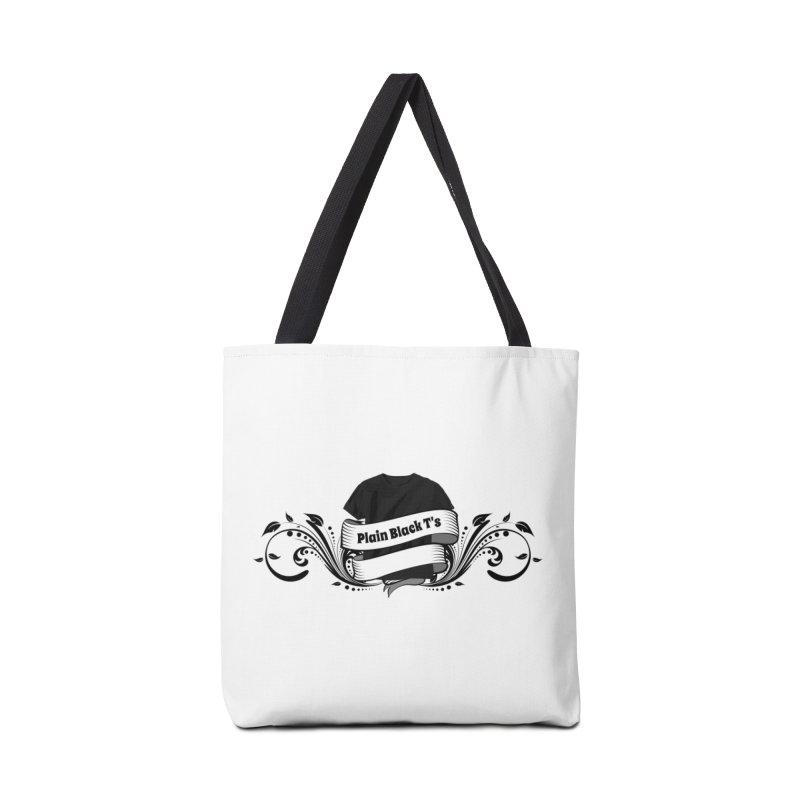 Plain Black T's Logo Accessories  by Coconut Justice's Artist Shop