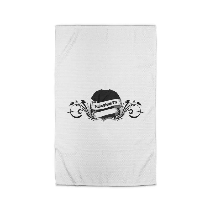 Plain Black T's Logo Home  by Coconut Justice's Artist Shop