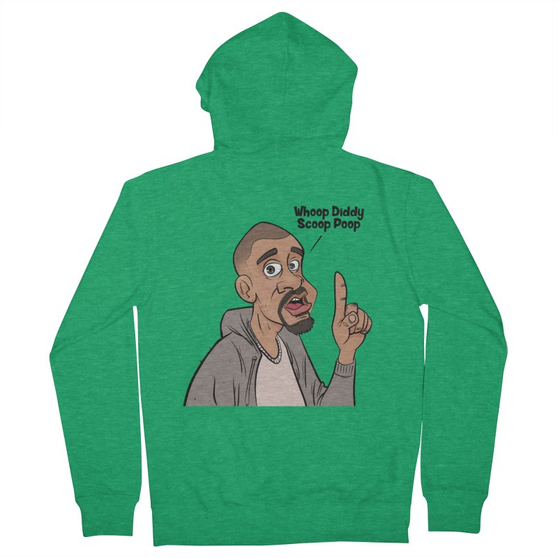 Whoop Diddy Scoop Poop Women's Zip-Up Hoody by Coconut Justice's Artist Shop