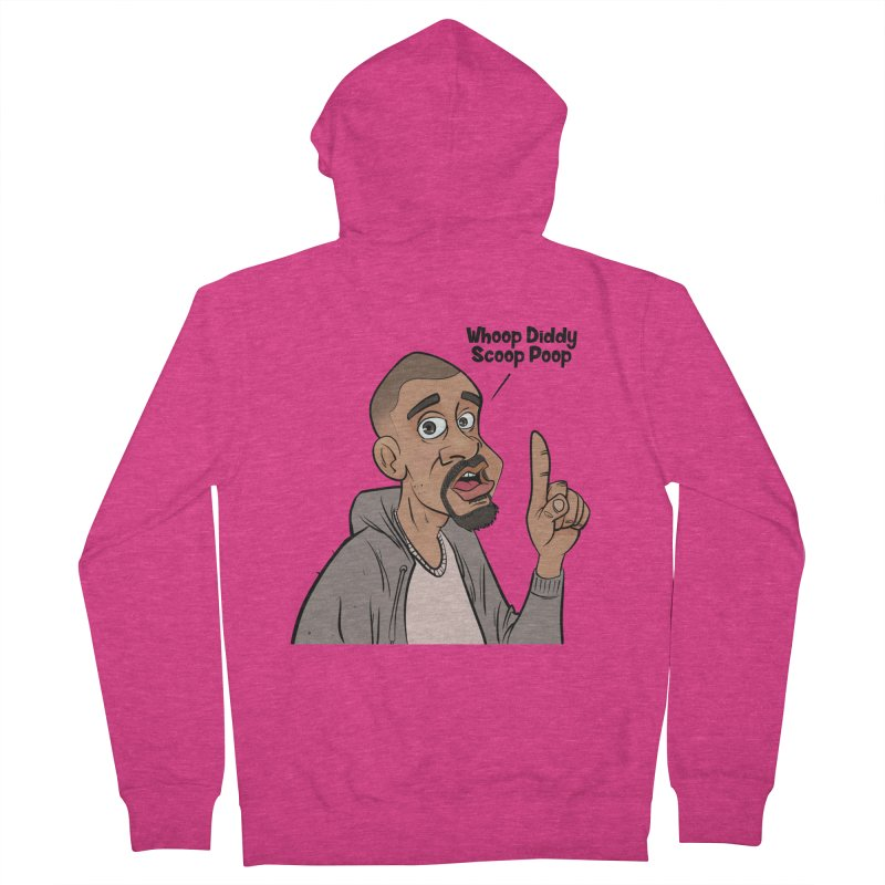 Whoop Diddy Scoop Poop Women's Zip-Up Hoody by Coconut Justice's Artist Shop