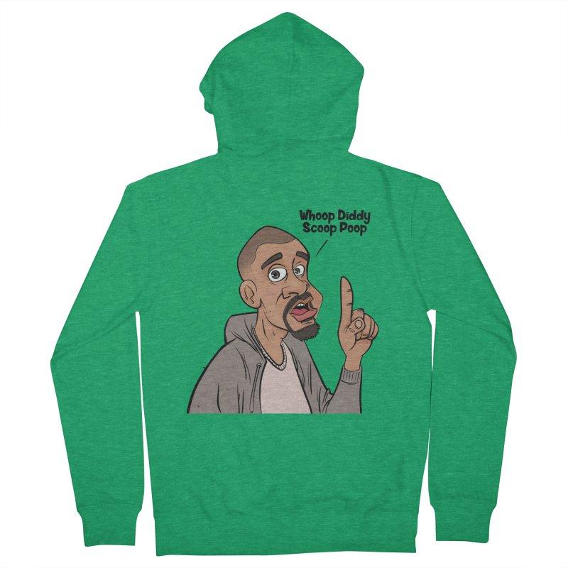 Whoop Diddy Scoop Poop Men's Zip-Up Hoody by Coconut Justice's Artist Shop
