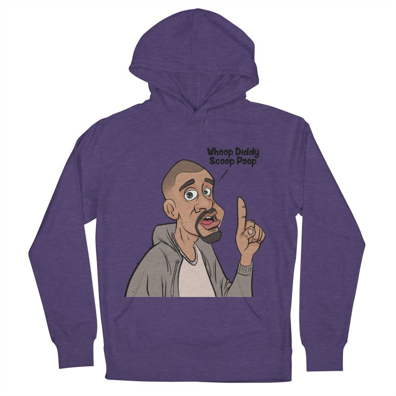 Whoop Diddy Scoop Poop Men's Pullover Hoody by Coconut Justice's Artist Shop