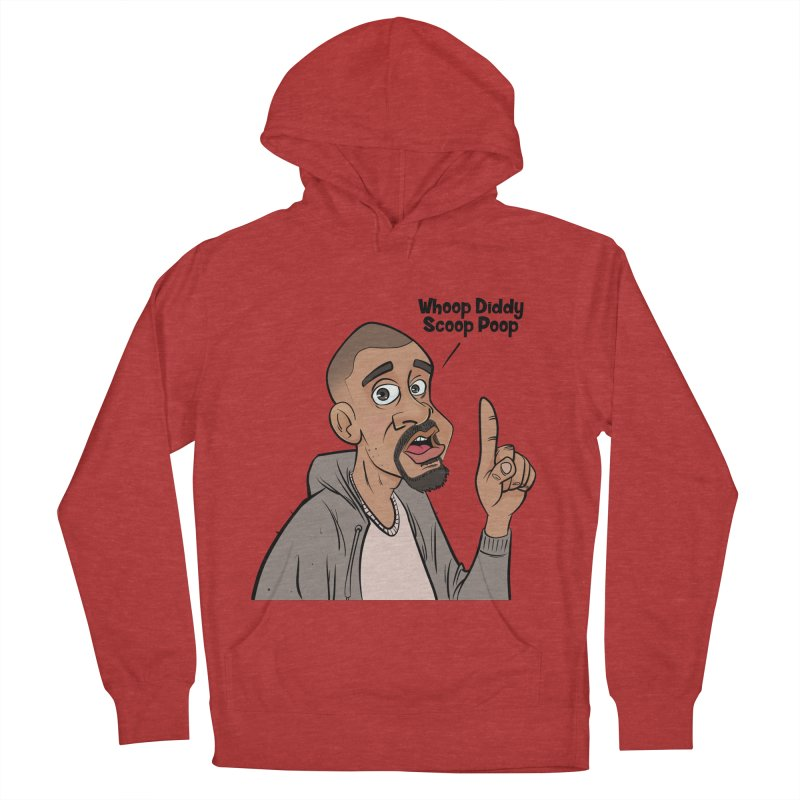 Whoop Diddy Scoop Poop Men's French Terry Pullover Hoody by Coconut Justice's Artist Shop