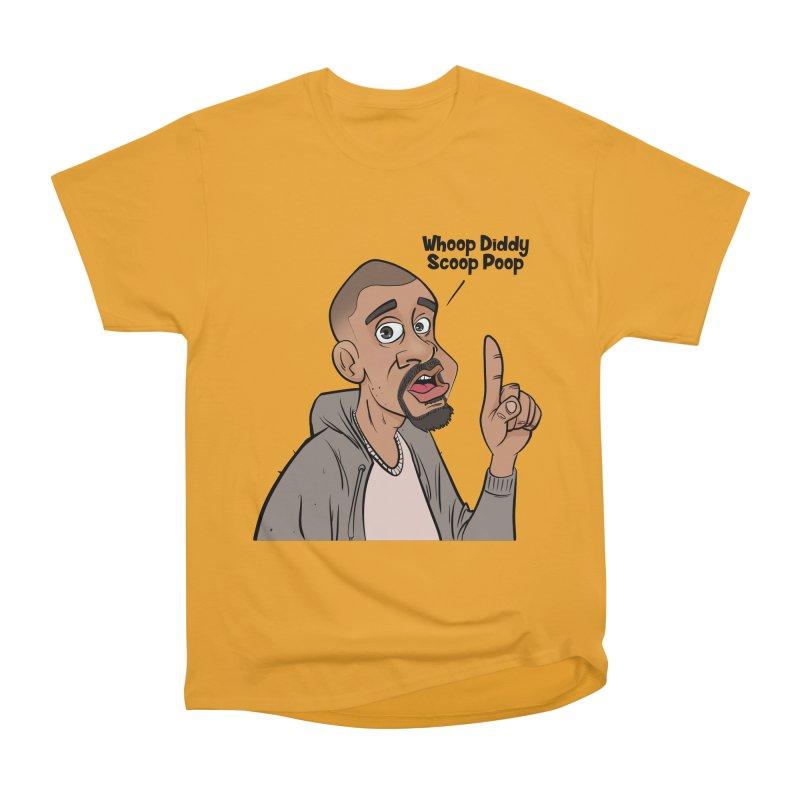 Whoop Diddy Scoop Poop Men's Heavyweight T-Shirt by Coconut Justice's Artist Shop
