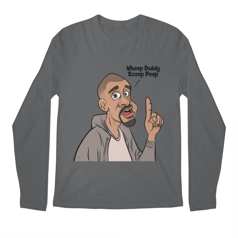 Whoop Diddy Scoop Poop Men's Longsleeve T-Shirt by Coconut Justice's Artist Shop