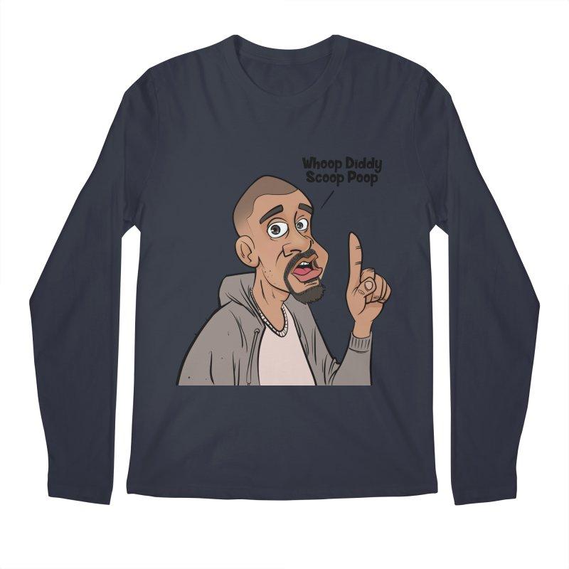 Whoop Diddy Scoop Poop Men's Regular Longsleeve T-Shirt by Coconut Justice's Artist Shop