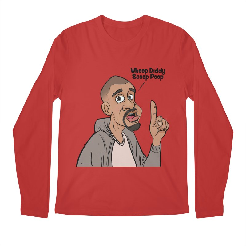Whoop Diddy Scoop Poop Men's Regular Longsleeve T-Shirt by Coconut Justice's Artist Shop