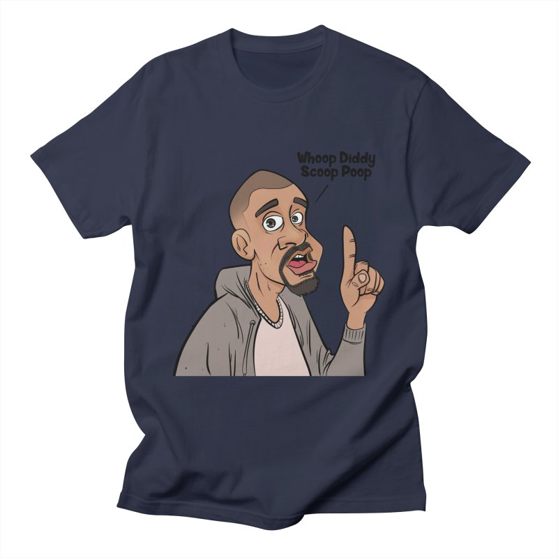 Whoop Diddy Scoop Poop Men's T-Shirt by Coconut Justice's Artist Shop