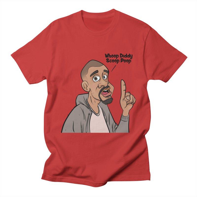 Whoop Diddy Scoop Poop Men's T-Shirt by Coconut Justice's Artist Shop