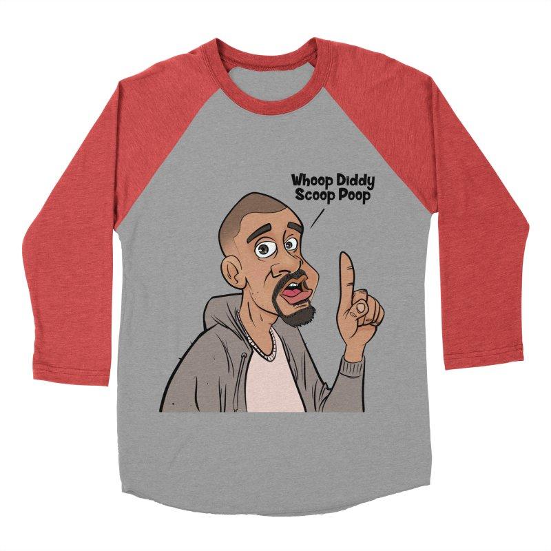 Whoop Diddy Scoop Poop Men's Baseball Triblend Longsleeve T-Shirt by Coconut Justice's Artist Shop