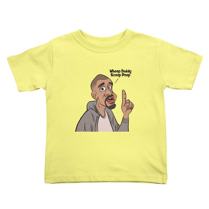 Whoop Diddy Scoop Poop Kids Toddler T-Shirt by Coconut Justice's Artist Shop