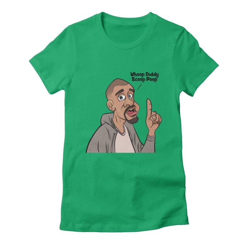Whoop Diddy Scoop Poop Women's T-Shirt by Coconut Justice's Artist Shop