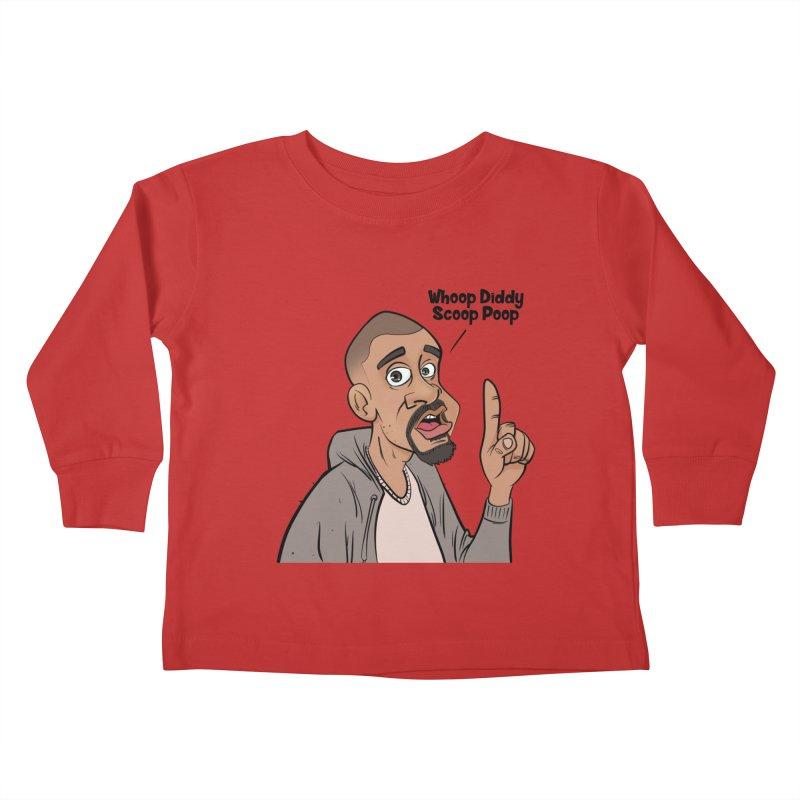 Whoop Diddy Scoop Poop Kids Toddler Longsleeve T-Shirt by Coconut Justice's Artist Shop