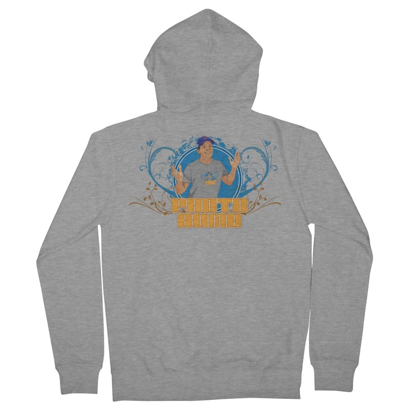 Carlos Photo Bomb Women's French Terry Zip-Up Hoody by Coconut Justice's Artist Shop