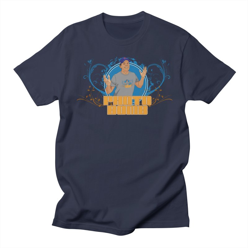 Carlos Photo Bomb Women's Regular Unisex T-Shirt by Coconut Justice's Artist Shop
