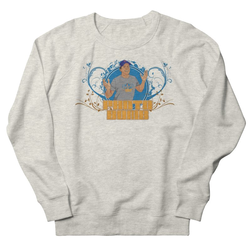 Carlos Photo Bomb Women's French Terry Sweatshirt by Coconut Justice's Artist Shop