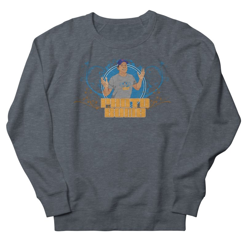 Carlos Photo Bomb Men's Sweatshirt by Coconut Justice's Artist Shop