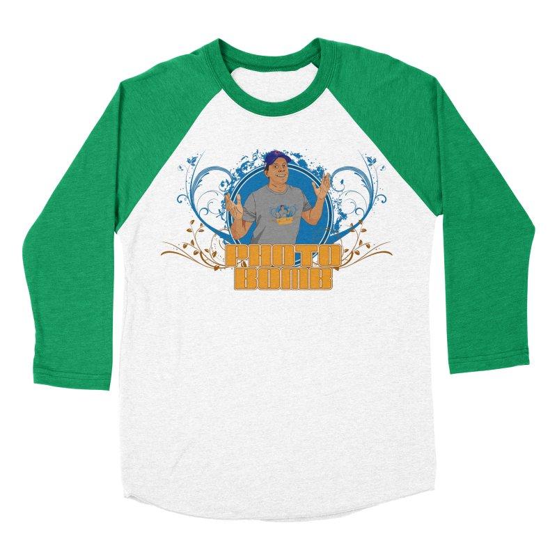 Carlos Photo Bomb Men's Baseball Triblend Longsleeve T-Shirt by Coconut Justice's Artist Shop