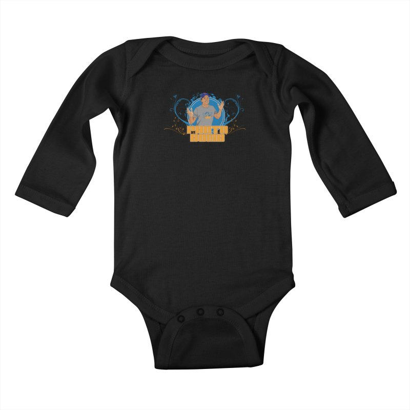 Carlos Photo Bomb Kids Baby Longsleeve Bodysuit by Coconut Justice's Artist Shop