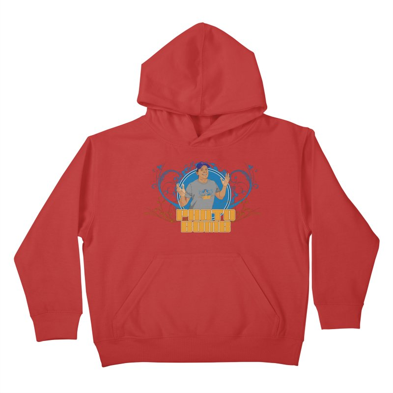 Carlos Photo Bomb Kids Pullover Hoody by Coconut Justice's Artist Shop
