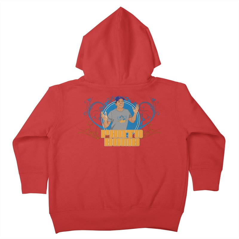 Carlos Photo Bomb Kids Toddler Zip-Up Hoody by Coconut Justice's Artist Shop