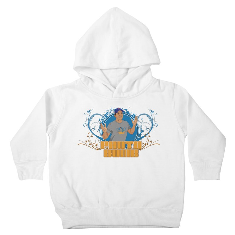 Carlos Photo Bomb Kids Toddler Pullover Hoody by Coconut Justice's Artist Shop