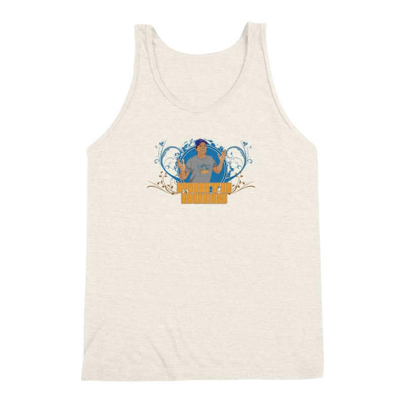 Carlos Photo Bomb Men's Triblend Tank by Coconut Justice's Artist Shop