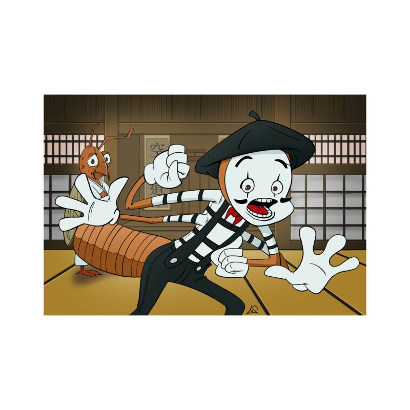 Fun Prompt: Termite Performing in a Dojo Home Fine Art Print by Coconut Justice's Artist Shop