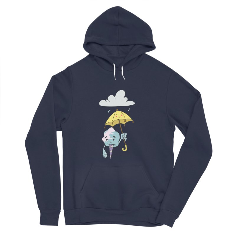 Rainy Day Cotton Candy Women's Sponge Fleece Pullover Hoody by Coconut Justice's Artist Shop