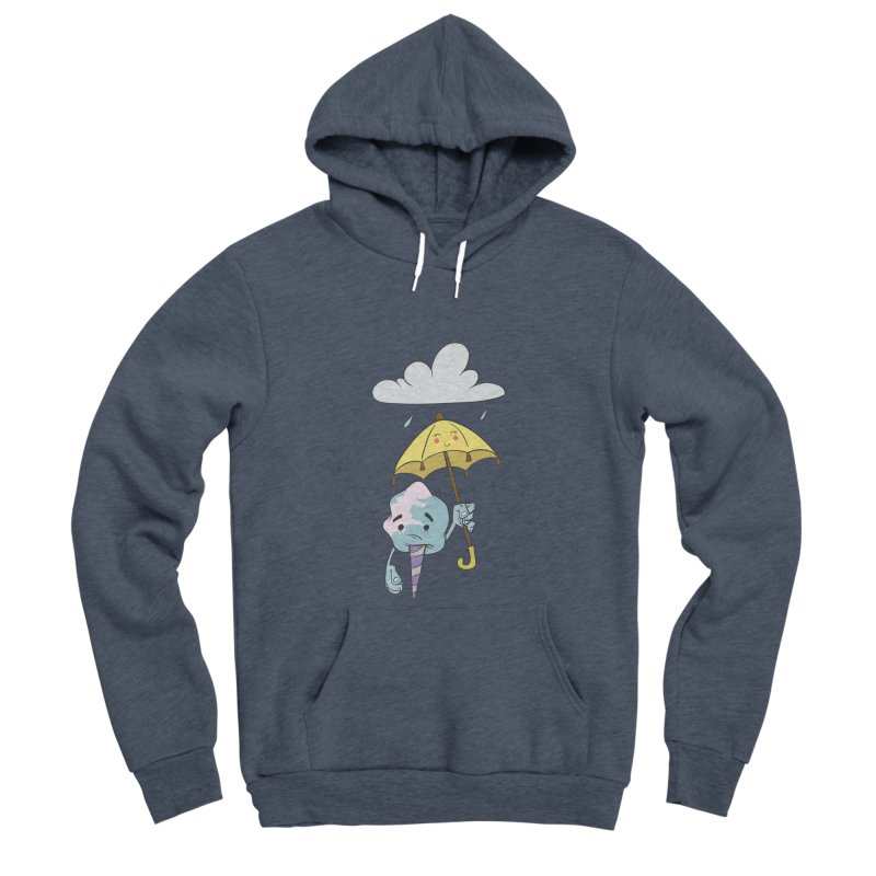 Rainy Day Cotton Candy Men's Sponge Fleece Pullover Hoody by Coconut Justice's Artist Shop
