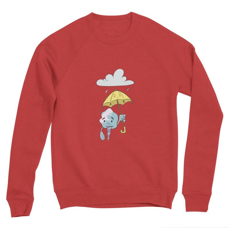 Rainy Day Cotton Candy Women's Sponge Fleece Sweatshirt by Coconut Justice's Artist Shop