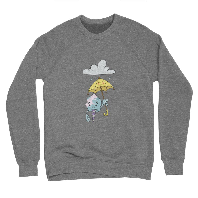 Rainy Day Cotton Candy Women's Sponge Fleece Sweatshirt by Coconut Justice's Artist Shop