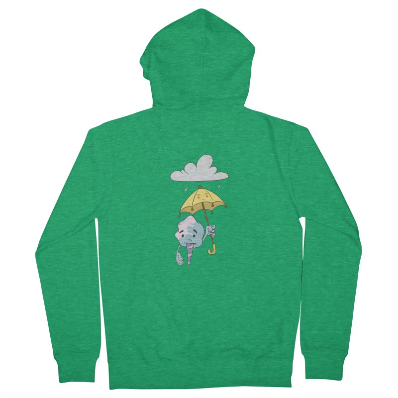 Rainy Day Cotton Candy Women's Zip-Up Hoody by Coconut Justice's Artist Shop