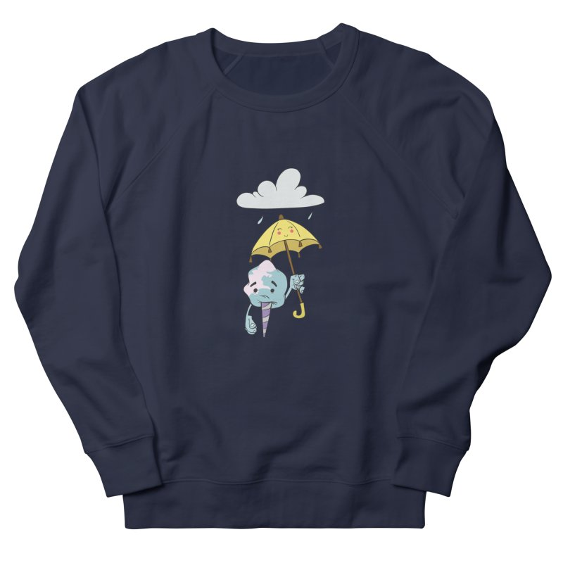 Rainy Day Cotton Candy Women's Sweatshirt by Coconut Justice's Artist Shop