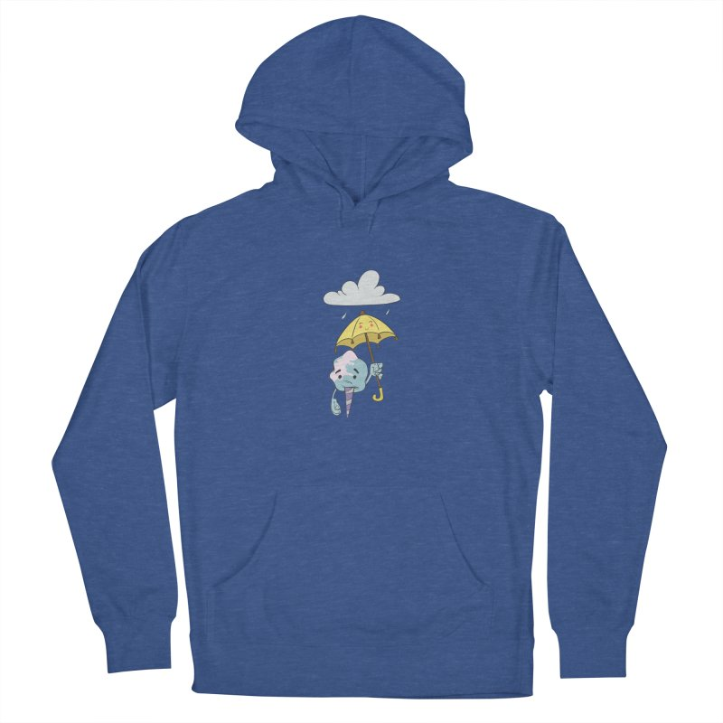 Rainy Day Cotton Candy Men's French Terry Pullover Hoody by Coconut Justice's Artist Shop