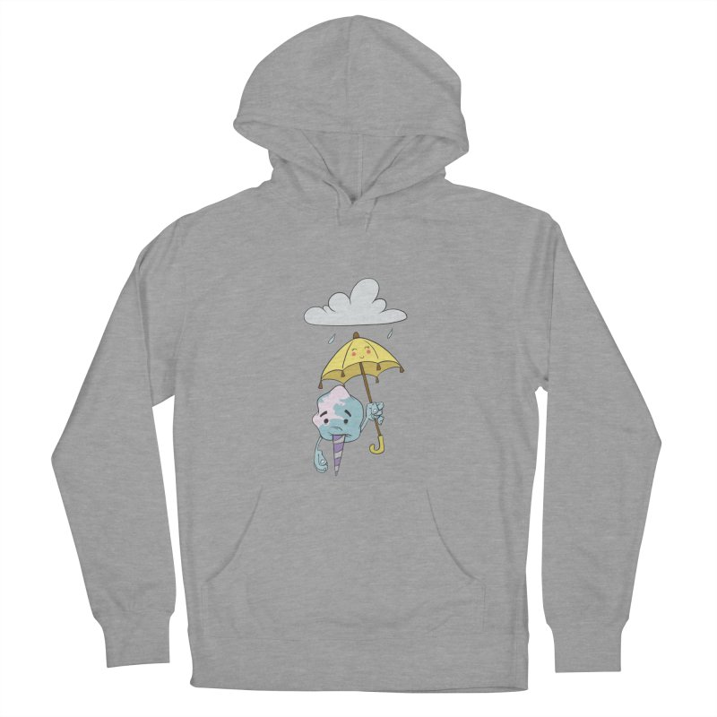 Rainy Day Cotton Candy Women's French Terry Pullover Hoody by Coconut Justice's Artist Shop